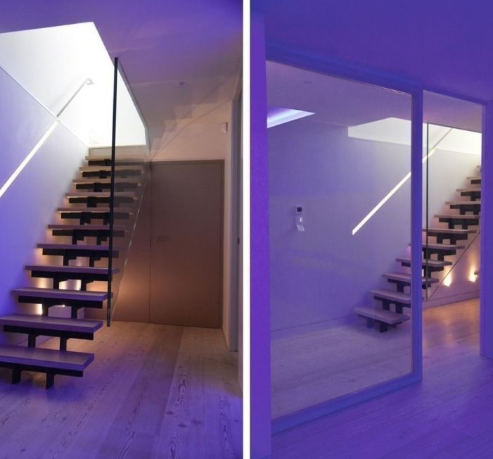 Light house Sophie Bates Architects contemporary stair